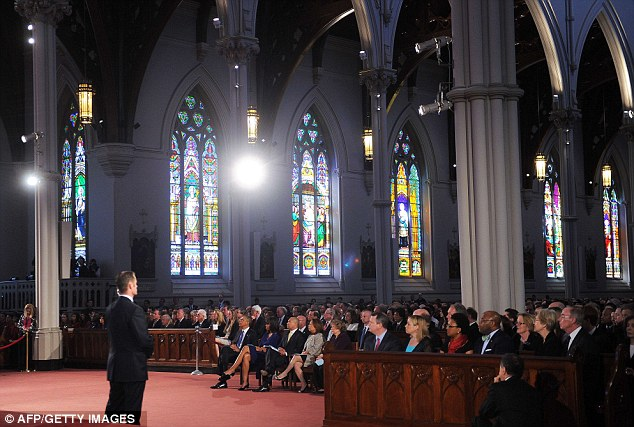 Full house: Some 2,000 people attended the 'Healing Our City: An Interfaith Service'