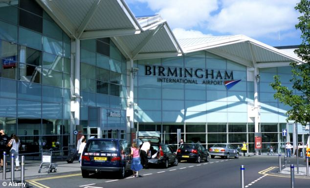 Mr Lloyd-Jones said Birmingham Airport told him their security policy which involved him having to reveal surgery scars had been implemented in recent weeks