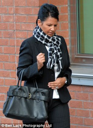 Mental health worker Susan Murphy arrives at Sheffield Crown Court charged with a catalogue of abuse against vulnerable patients at the Solar Centre in Doncaster