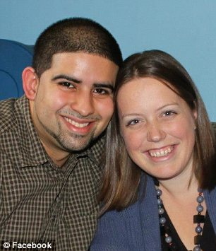 Financial incentive: Kaitlin McGreyes, pictured with her husband Kelbyn, says she saved money by buying fewer diapers