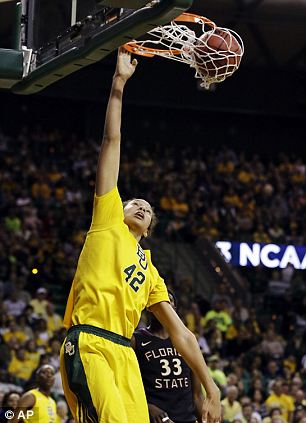 Star: Griner dominated NCAA and was number one in Monday's WNBA draft