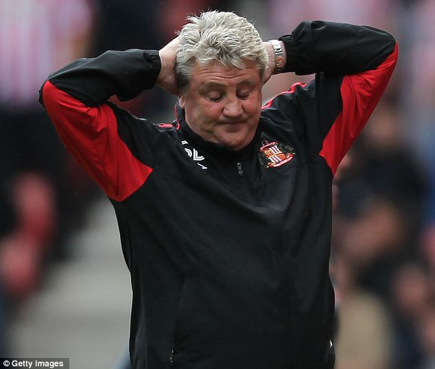 Painful: Bruce was hurt by Sunderland sacking