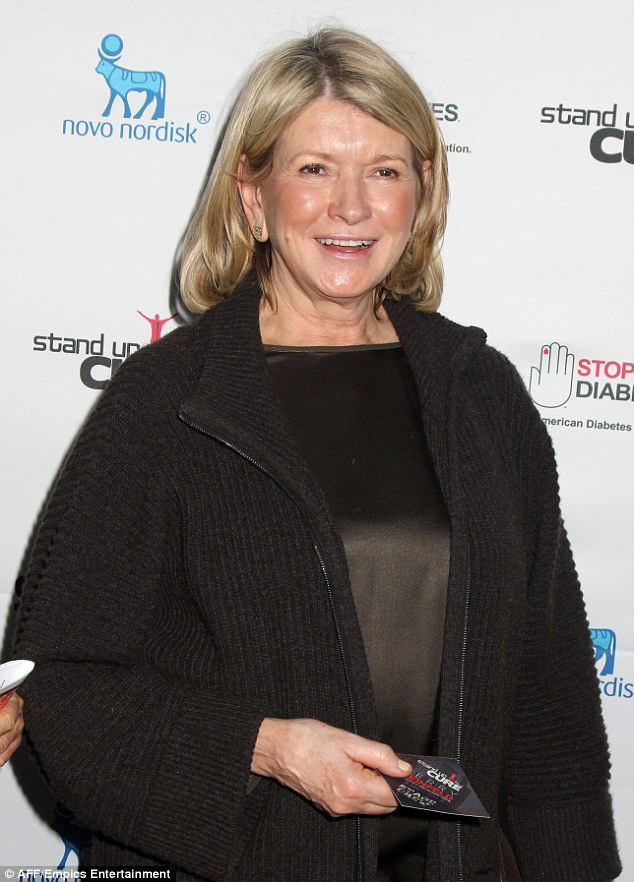 A tad overworked? Martha Stewart was caught snoozing during a Jerry Seinfeld comedy routine at a Stand Up For The Cure concert on Wednesday night in New York City