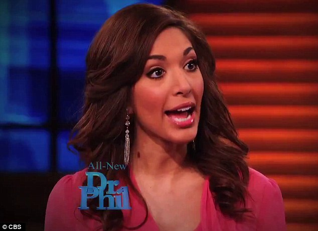 In the hot seat: Teen Mom Farrah Abraham has sat down for a chat with Dr. Phil