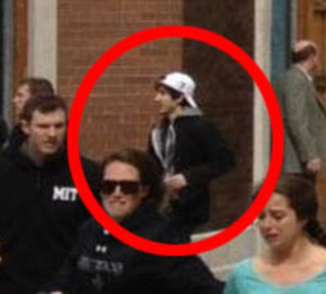Clearer photograph of Suspect Number Two