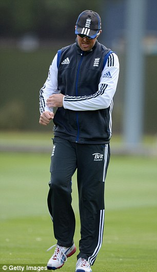 Cause for concern: Graeme Swann suffered an elbow injury ahead of the New Zealand tour