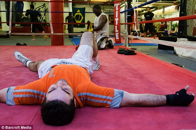 Tamerlan was an avid boxer and spent a lot of time training for competitions, according to Johannes Hirn, who posted a photo essay entitled 'Will Box for Passport'