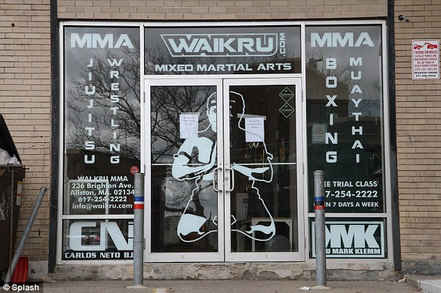 Pugilist: Tamerlan trained at this Waikru Mixed Martial Arts boxing gym in Massachusetts