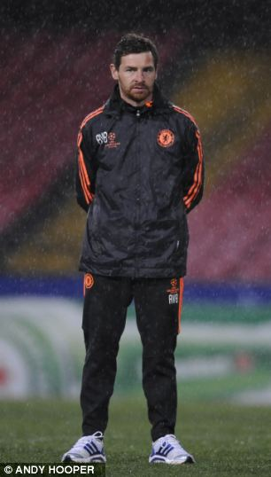 Too far: Lampard has seen managers come and go, most recently Andre Villas-Boas and Roberto Di Matteo