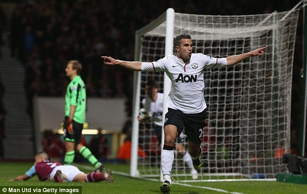 Key: Robin van Persie's arrival has inspired Manchester United