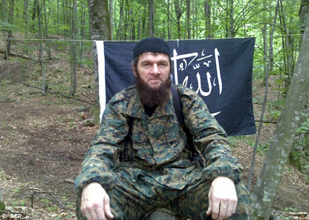 Rebel: One theory is that Tamerlan Tsarnaev was inspired by Doku Umarov, a Chechen terrorist known as Russia's Bin Laden