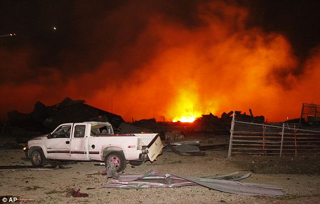 West Chemical and Fertilizer Plant, that exploded on Wednesday killing 14 and injuring 200,