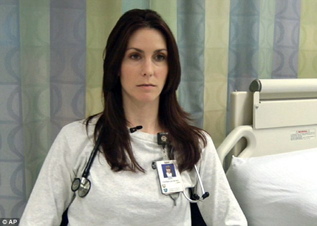 Haunted: Laura Lux put her fears aside and treated the terrified victims of the explosions