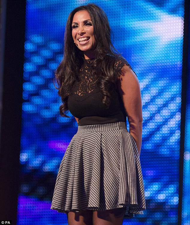 Hilarious: Francine blew the entire BGT judging panel away with her uncanny impressions of Holly, as well as Stacey Solomon, Cheryl Cole and Amy Childs on Saturday night's show