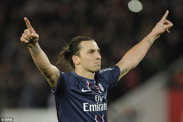 Instrumental: Ibrahimovic bagged a goal and an assist in the comprehensive victory