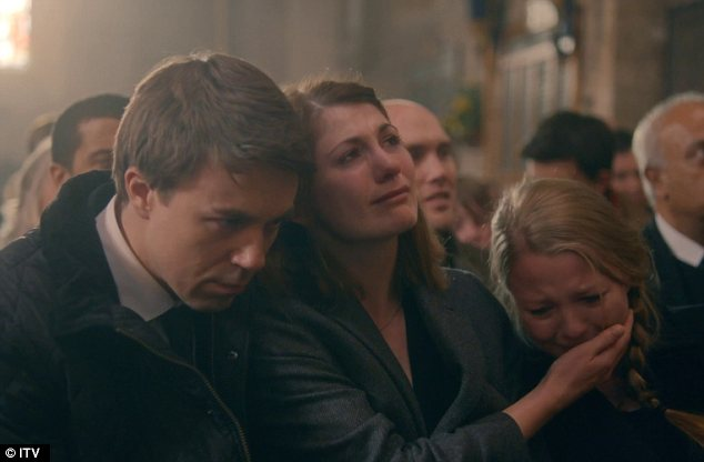 Saying goodbye: With Joe charged with murder the Latimer family were able to say a proper goodbye to Danny