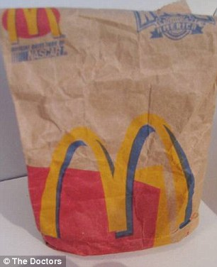 McDonald's: The burger was bought at McDonald's in July 1999