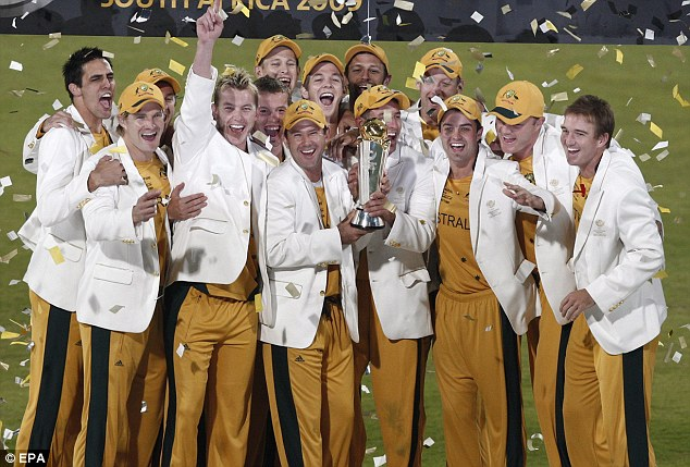 Defending champions: Australia won the competition last time round in South Africa