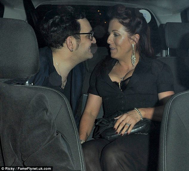 The look of love: Jessie seems absolutely smitten with her man, but she recently denied reports the pair are engaged