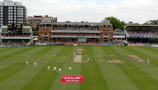Home of cricket: The first Test in the five match series will take place at Lord's in north London