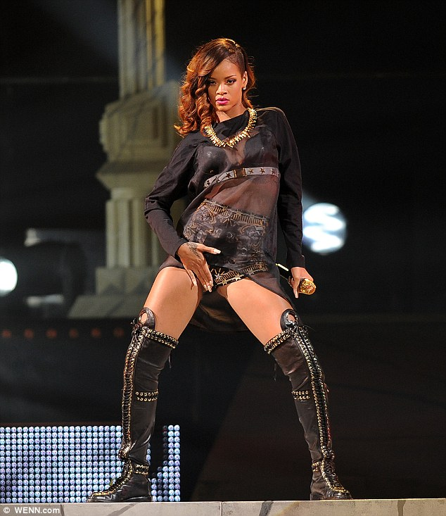 Next stop: Rihanna is next scheduled to take her Diamonds World Tour to the 1st Mariner Arena in Baltimore on Wednesday