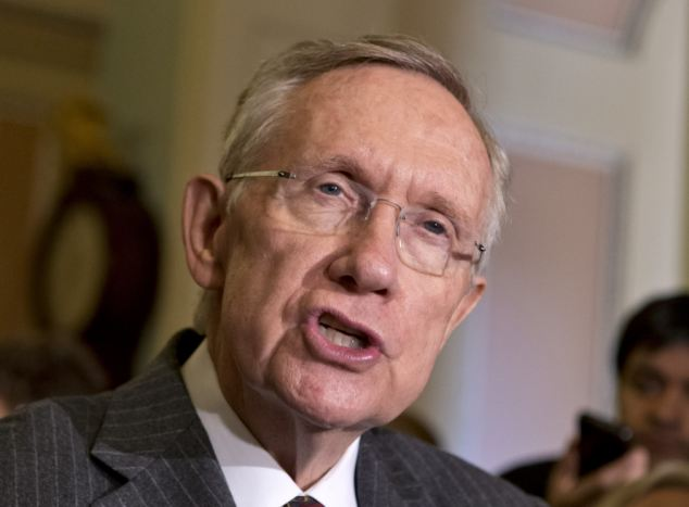 Senate Majority Leader Harry Reid said Tuesday that a ricin-poisoning atack targeted Bolling Air Force Base, but that base was combined with another in 2010 and its current spokesman said he knew nothing about any toxic letters