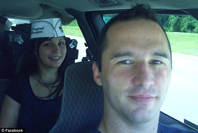 J. Everett Dutschke (foreground), shown on his Facebook page, has been accused of sending the ricin letters, by a politician whose mother, a judge, received one of the poisoned envelopes. He has not been charged