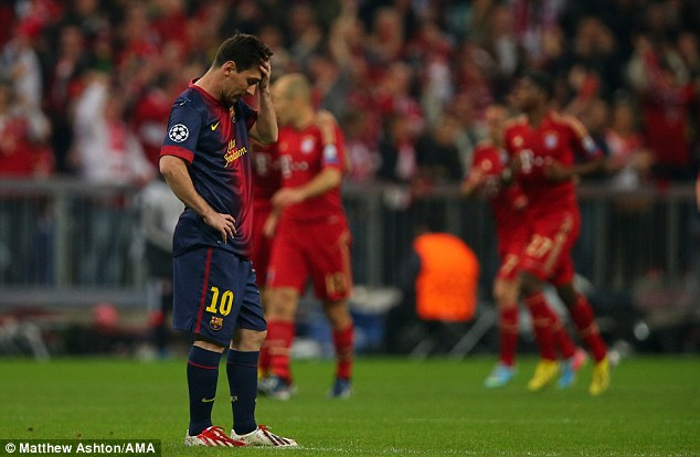 No way back? Messi and Barcelona face an uphill task in the second leg