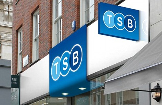 Familiar name: TSB is set to be a common feature on the High Street's once again