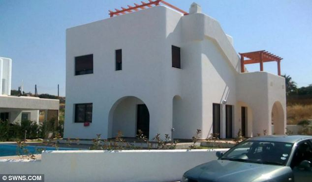 Holiday home: McCormick's £350,000 villa in Cyprus