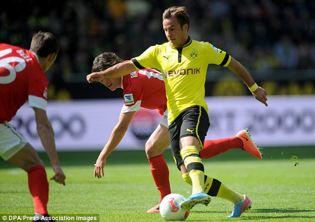 Creator: Gotze is arguably Dortmund's best player but they were forced to sell him