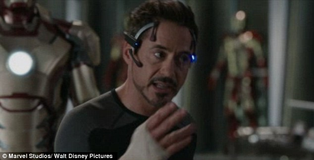 Tough: Robert Downey Jr's character has a lot to come to terms with in the new film