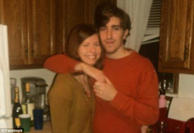 Bauman, pictured right, is in critical but stable condition at Boston Medical Center having lost both legs