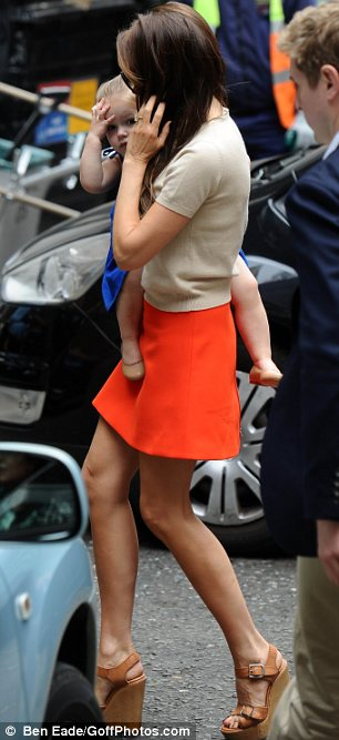 Vogue material? The Spice Girl-turned fashion designer is a regular on the front of the British edition of the magazine, but is yet to grace the cover of the American version