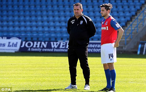Targeted: Sheffield United hope to recruit Martin Allen from Gillingham