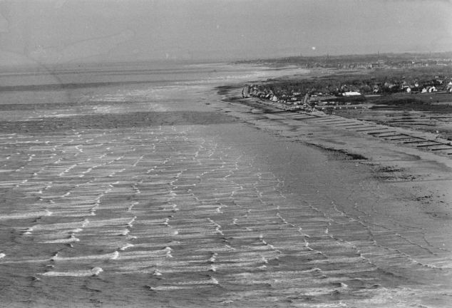 Juno Beach in Normandy where  Allied Forces landed in the Normandy invasion