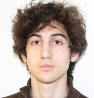 Silent suspect: Dzhokhar Tsarnaev stopped talking when he was read his rights by police officials. He had previously confessed to plotting the Boston bombing with his brother