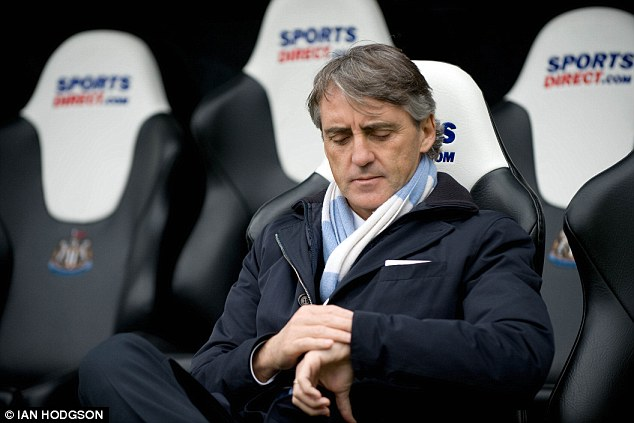 Measured: Mancini wanted the watch to be made because it is hard to tell how much stoppage time has passed