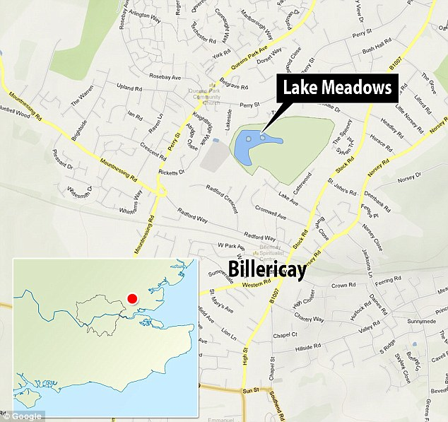 Catch: The 'Beast of Billericay' lives in Lake Meadows in the Essex town