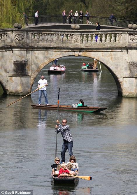 Warm weather in Cambridge
