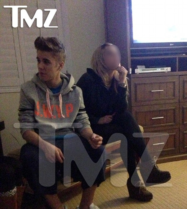 Apologies: Bieber told fans he was sorry after being pictured with a suspicious looking cigarette