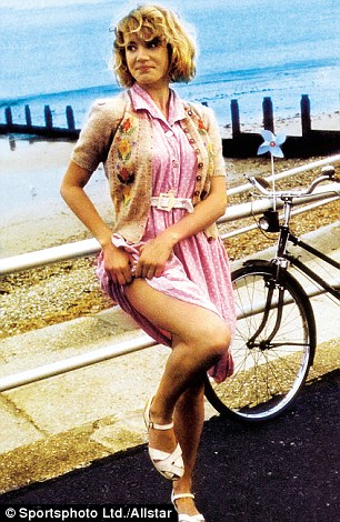 Just 16: Emily in her breakthrough role in Wish You Were Here