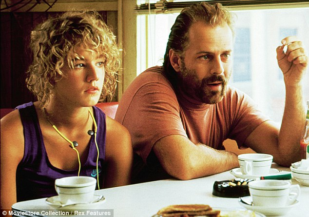 Emily with Bruce Willis in In Country (1989), one of the many big roles she secured in the Eighties