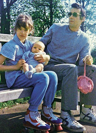 Emily with her father Roger Lloyd-Pack