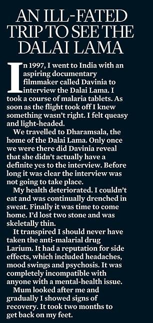 AN ILL-FATED TRIP TO SEE THE DALAI LAMA