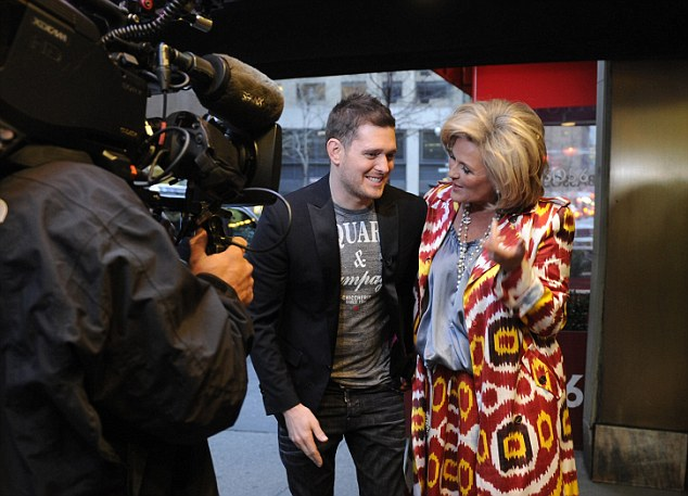 On camera talent: ABC's Nightline is even doing a piece on the talented singer / songwriter, set to air Thursday evening