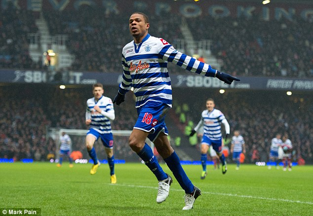Stay: Redknapp is desperate to keep Loic Remy at QPR to aid their Championship promotion push
