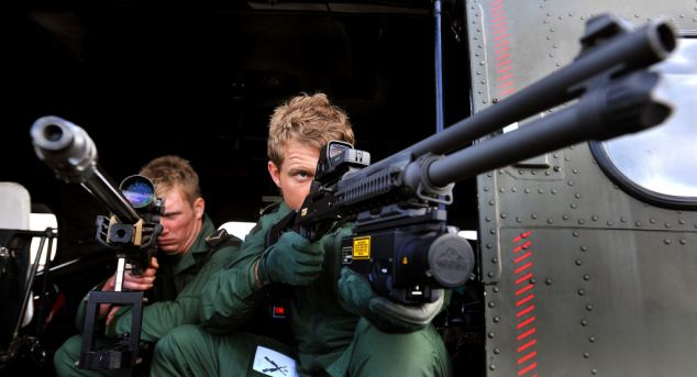 The system could be used to pinpoint the location of snipers simply by analysing the sound and shockwaves of a gunshot