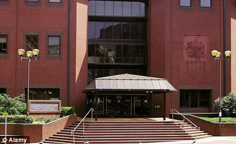 The PC, who was suspended last month, denied the charge at Birmingham Magistrates' court