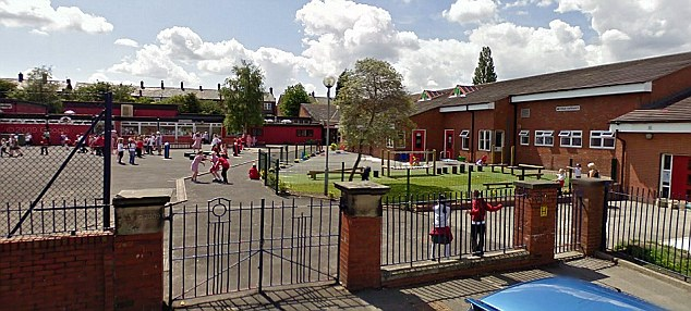 Duped: School treasurer Susan McDiarmid siphoned off thousands from the Waterloo Primary School in Ashton-under-Lyne